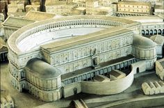 Wonderful reconstruction of the Theatre of Marcellus, Rome.