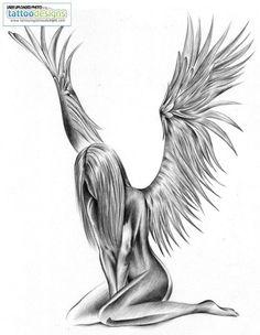 free angelic sleave tattoo designs - Google-Suche