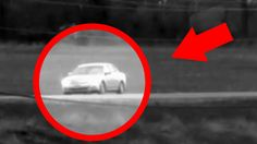 Car Disappears While Driving On The Road