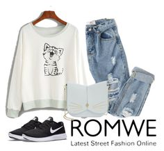 """""""Untitled #17"""" by lejlahurtic ❤ liked on Polyvore featuring NIKE and Ted Baker"""