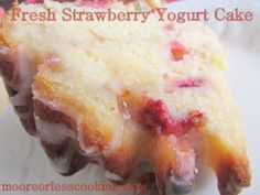 10 Amazing Strawberry Cakes for your Summer! | Moore or Less Cooking Food Blog