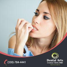 Six Reasons Why Biting Your Nails is Bad for Your #Teeth:  1. Biting your nails can cause your teeth to get chipped.  2. Biting your nails can cause a diastama — a gap between your two front teeth.  3. Nail biting can cause the roots of your teeth to become weaker.  4. Biting your nails can cause you to lose your teeth. 5. Biting your nails can cause TMJ problems.  6. Biting your fingernails can cause gingivitis.