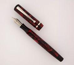 Edison Pen Company: New Production Beaumont Color - Bordeaux Flake!