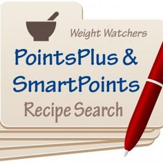 Recipes for Weight Watchers with SmartPoints & PointsPlus