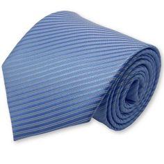 Cravate bleu-azur