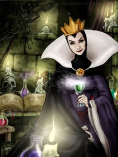 SNOW WHITE/ Evil Witch