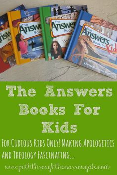 Do your kids ask impossible questions about the Bible? If so, The Answers Books for Kids may become your best friend.