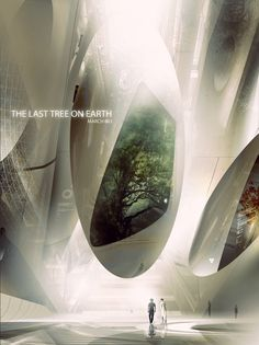 The Last Tree on Earth http://antarktik.cgsociety.org/art/tree-photoshop-concept-art-design-conceptual-architecture-futuristic-architectural-visualisation-last-march-2083-sci-fi-2d-1356511