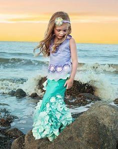 Emilia the Emerald of the Ocean Mermaid by TheWhimsyFinShop, $165.00