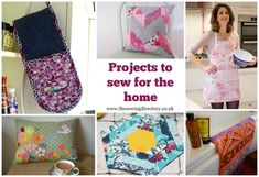 Things to sew for your home - free projects