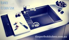 #blancokitchensink from www.theperfectkitchen.com.au Launching soon with all the novelties to renovate your Kitchen and Bathroom concepts