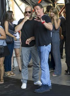 Jason Statham Photos - 'The Expendables 3' Photo Call in Malaga - Zimbio