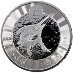2017 1 oz Cayman Islands Marlin Silver Coins from JM Bullion™ Grand Cayman, Cayman Islands, 1 Oz, Silver Coins, Kangaroo, Pure Products, Paper, Coining, Money