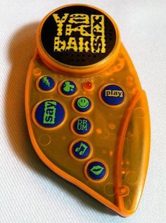 "Yak Bak. Had one of these too. I remember recording ""one sweet day"" on it by Mariah Carey and Boyz II Men. I would play it over and over again & it wasn't even the whole song lol"