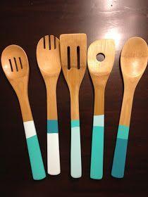 DIY painted spoons