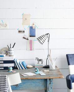 Striped Desk Accessories