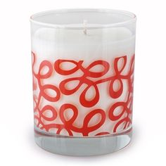 Ribbon Candle from Crash Candles $24