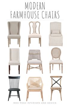 Get your fixer upper style with these modern farmhouse dining chairs. Get your fixer upper style with these modern farmhouse dining chairs. Modern Farmhouse Table, Farmhouse Dining Chairs, Farmhouse Style Kitchen, Modern Farmhouse Kitchens, Modern Dining Chairs, Dining Room Chairs, Farmhouse Decor, Kitchen Chairs, Bar Chairs
