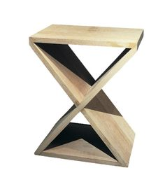 Oak x Frame Stool - <p>Side table made in solid oak.</p><p>Available to order in various colours and in custom sizes. </p><p></p>