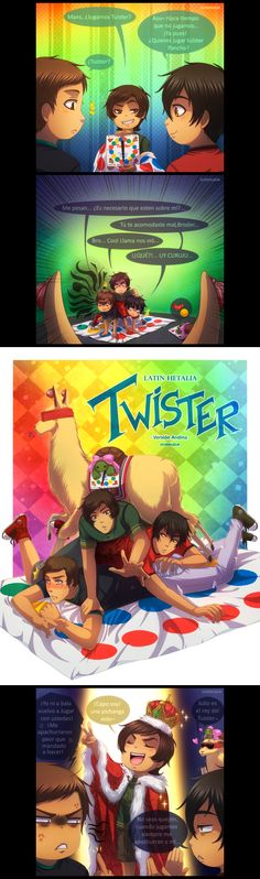 +LH: Andean Twister+ by kuraudia on DeviantArt Twister, Latin Hetalia, Mundo Comic, Fandom, Tumblr Posts, Marvel, Deviantart, Manga, Adventure
