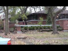 ▶ Frank Lloyd Wright In Oak Park, The Edward H, Cheney House - YouTube