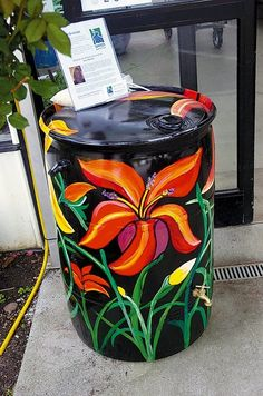 I& been looking at our rain water barrel which has been staring back at me for the past couple of years