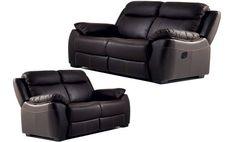 Oferta conjunto sofá tres plazas (2 relax) y dos plazas, máximo confort