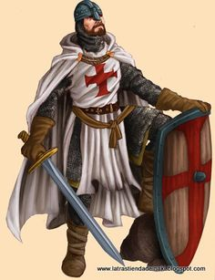 un cavaller de la edat mitjana
