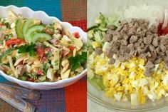 """Tasty hot snack """"Bourgeois in a padded jacket"""" Hot Snacks, Fried Rice, Cobb Salad, Salad Recipes, Salads, Cooking Recipes, Tasty, Ethnic Recipes, Food"""
