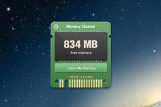 Memory Cleaner by Igor Savelev, via Behance