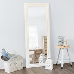 Specchio Napoli bianco 145x59 altre misure: 60x80, 90x120, 80x160 o 50X170. euro 99,90