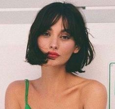 Hair ideas - hair inspiration - bangs, bob - hair cuts - hair styles - - Frisuren Tec H
