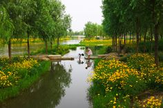 Qian'an Sanlihe Greenway by Turenscape