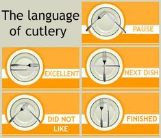 The language of cutlery