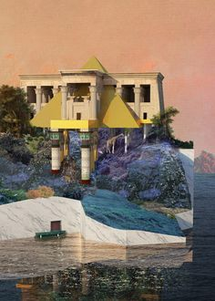 Royal College of Art graduate Skye Yuxi Sun has imagined a dystopian future where London's Thames Estuary is transformed into a tax haven for the city's elite to resurrect extinct animals - dezeen