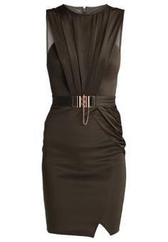 Zakelijke jurk - khaki