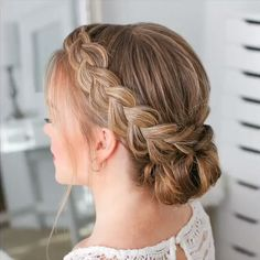 Frisuren Haar Tutorial Video # Braidstyles The B Cute Ponytail Hairstyles, Chic Hairstyles, Wedding Hairstyles, Halloween Hairstyles, Hairstyle Short, Homecoming Hairstyles, School Hairstyles, Natural Hairstyles, Summer Hairstyles