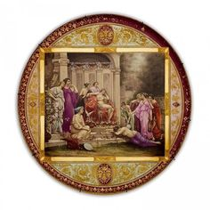 A LARGE 19TH CENTURY ROYAL VIENNA PLAQUE : Lot 162