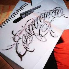 Terminadas muajaja :) cuando te late lo que haces ni siquiera le puedes llamar trabajo #lettering #letteringtattoo #cursive #cursivetattoo #handmadefont #font #fineline #tatuajedeletras #art #artwork #arte #tattoo #tatuaje #queretaro #tattoolife #inked #skinart #inklife #tattooart #inkstagram #chicano #chicanolettering #chicanostyle #script #scriptlettering