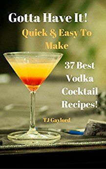 When it comes to mixed drinks, vodka seems to be everyone's go-to liquor. It goes down easy and tastes decent with pretty much anything. Find the best vodka cocktails with these 37 Best Vodka Cocktail Recipes!