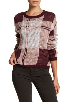 Shrunken Plaid Pullover (Regular & Petite)