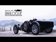 "1927 Bugatti Type 35 Pur Sang in China ""Back to Analogue"" - Motor & Co. My Dream Car, Dream Cars, Car Videos, Bugatti, Singing, China, Type, Youtube, Youtubers"