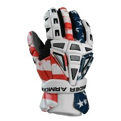 450fc7f11a  LacrosseUnlimited Under Armour Freedom Lacrosse Gloves.  USA  America   Gloves  alwaysCustom