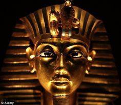 Tutankhamun (King Tut) in the Cairo Museum. Cairo, Egypt.