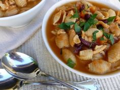 Weight Watchers Slow Cooker Chicken Pasta Fagioli - Simple Nourished Living