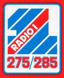 Radio 1 logo (Early 80s)