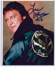 Fall Guy Picture Autographed/Signed by Lee Majors at Motor City Comicon The Fall Guy, 80 Tv Shows, Lee Majors, Men Are Men, Childhood Tv Shows, Heather Thomas, First Crush, Farrah Fawcett, Most Handsome Men