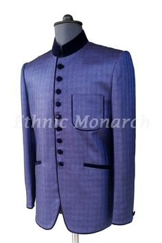 Splendid Blue Jodhpuri