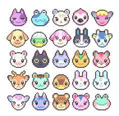 3d Perler Bead, Perler Bead Templates, Melty Bead Patterns, Beading Patterns, Cross Stitch Art, Cross Stitch Patterns, Pixel Art Grid, Animal Crossing Qr, Fuse Beads