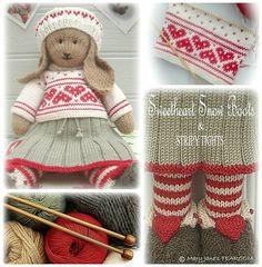 ANIKA Rabbit / Bunny Toy Knitting Pattern / by maryjanestearoom